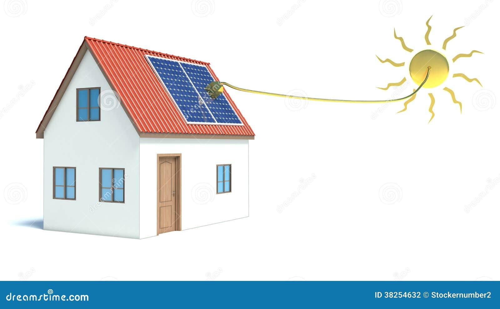太阳能。议院