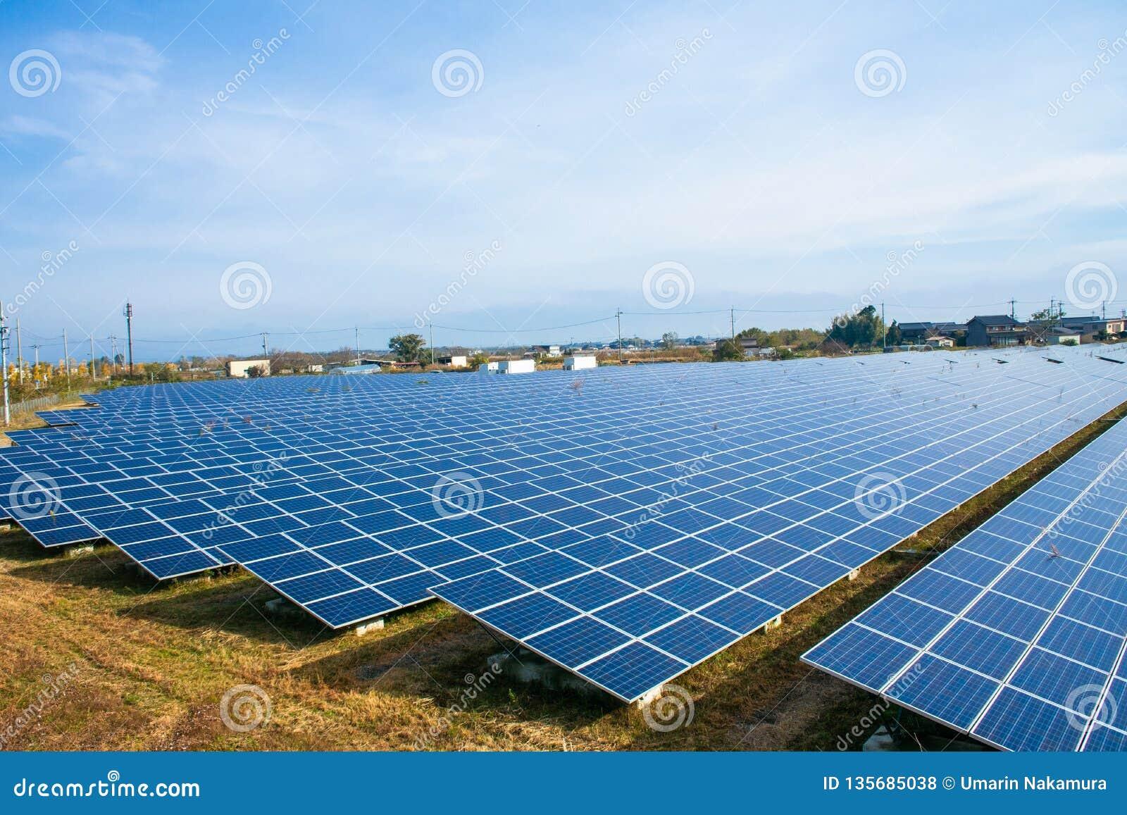 太阳能盘区,光致电压的模块