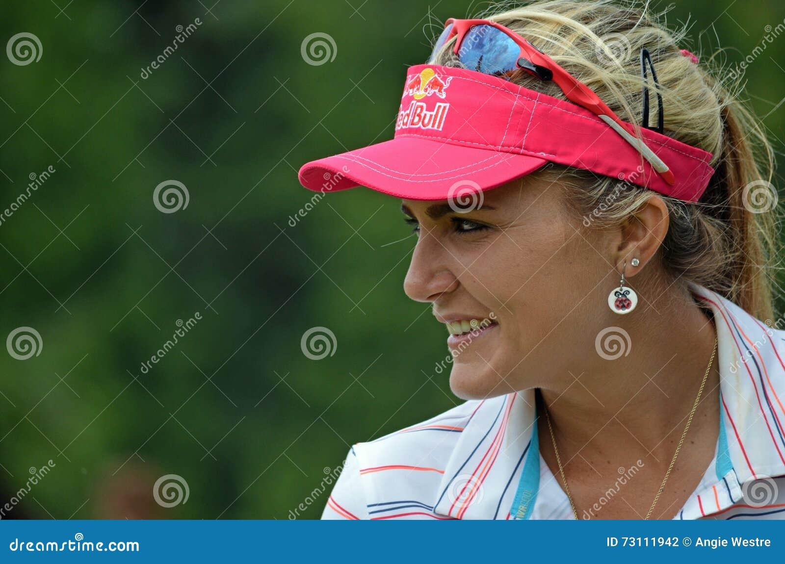 夫人职业高尔夫球运动员乐喜汤普森毕马威妇女的PGA冠军2016年