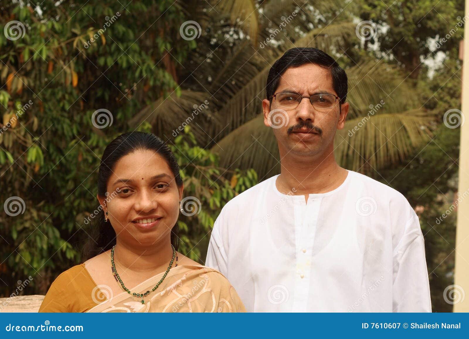 夫妇印第安聪明