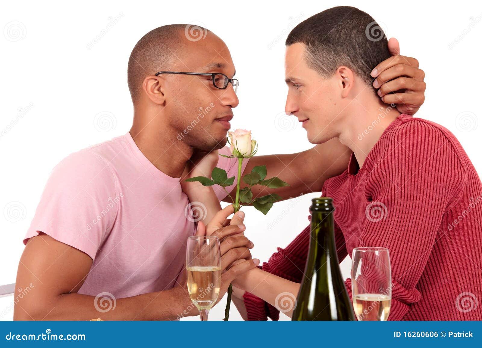 夫妇种族快乐混杂的华伦泰