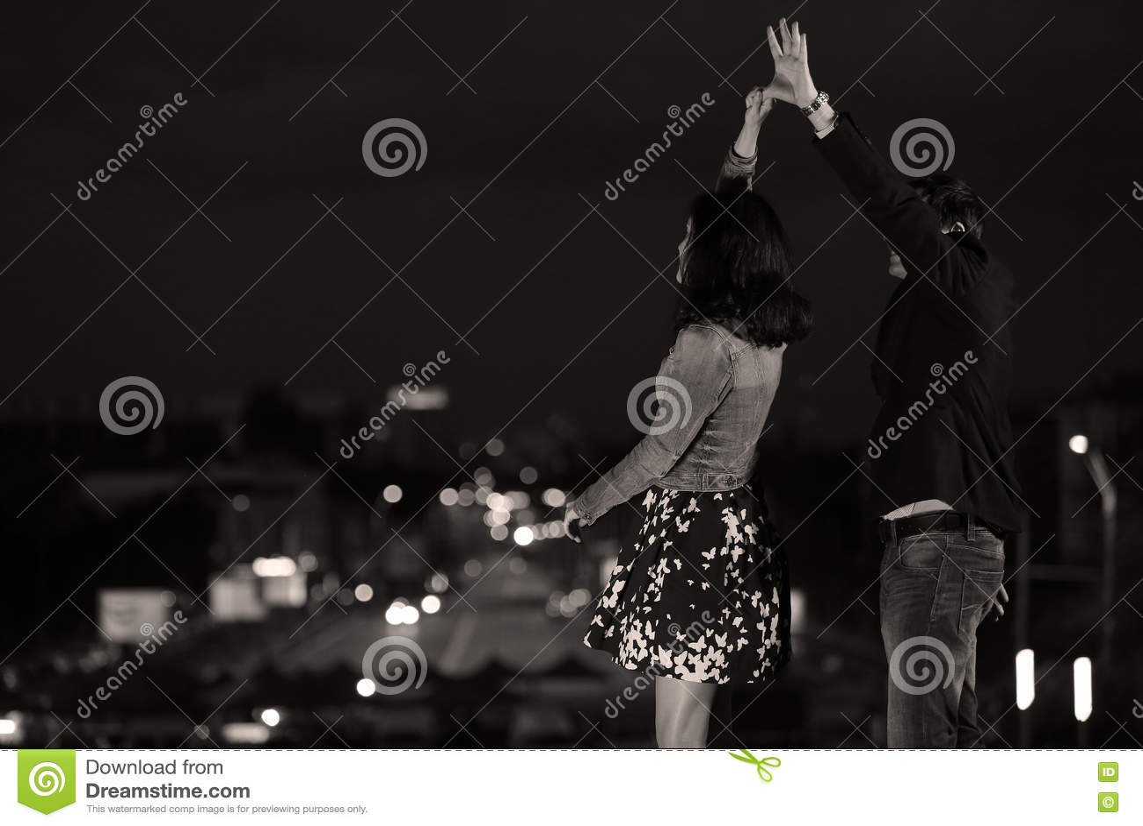 夫妇跳舞例证音乐会向量