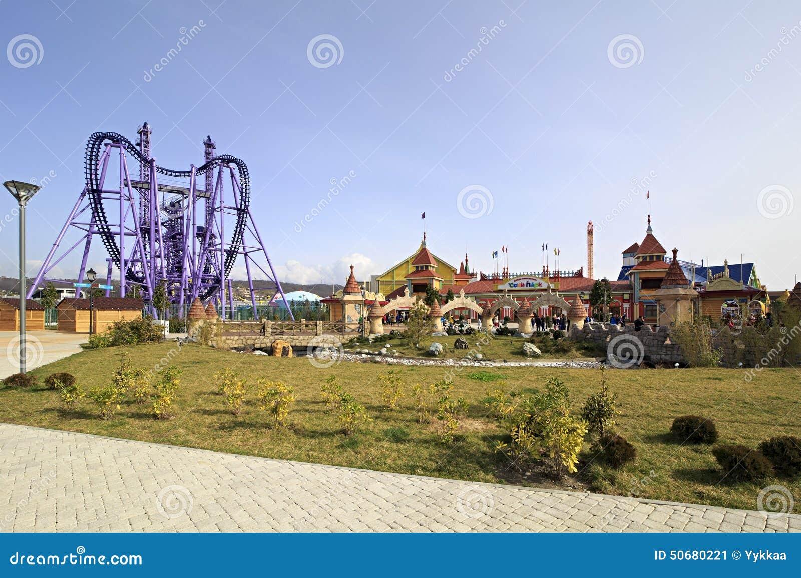 Download 索契公园-主题乐园 编辑类照片. 图片 包括有 现代, 吸引力, 冬天, 重新创建, 城市, 俄国, admin - 50680221