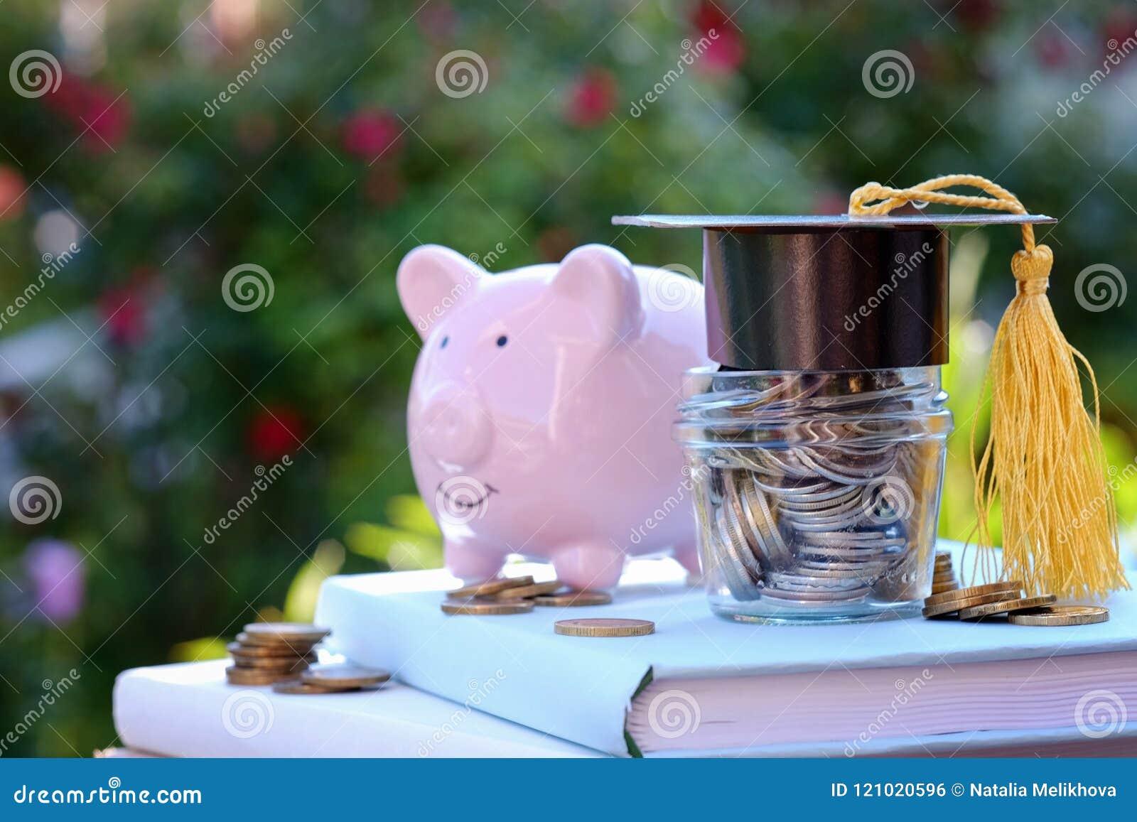 奖学金和教育的财务 在教育概念的投资