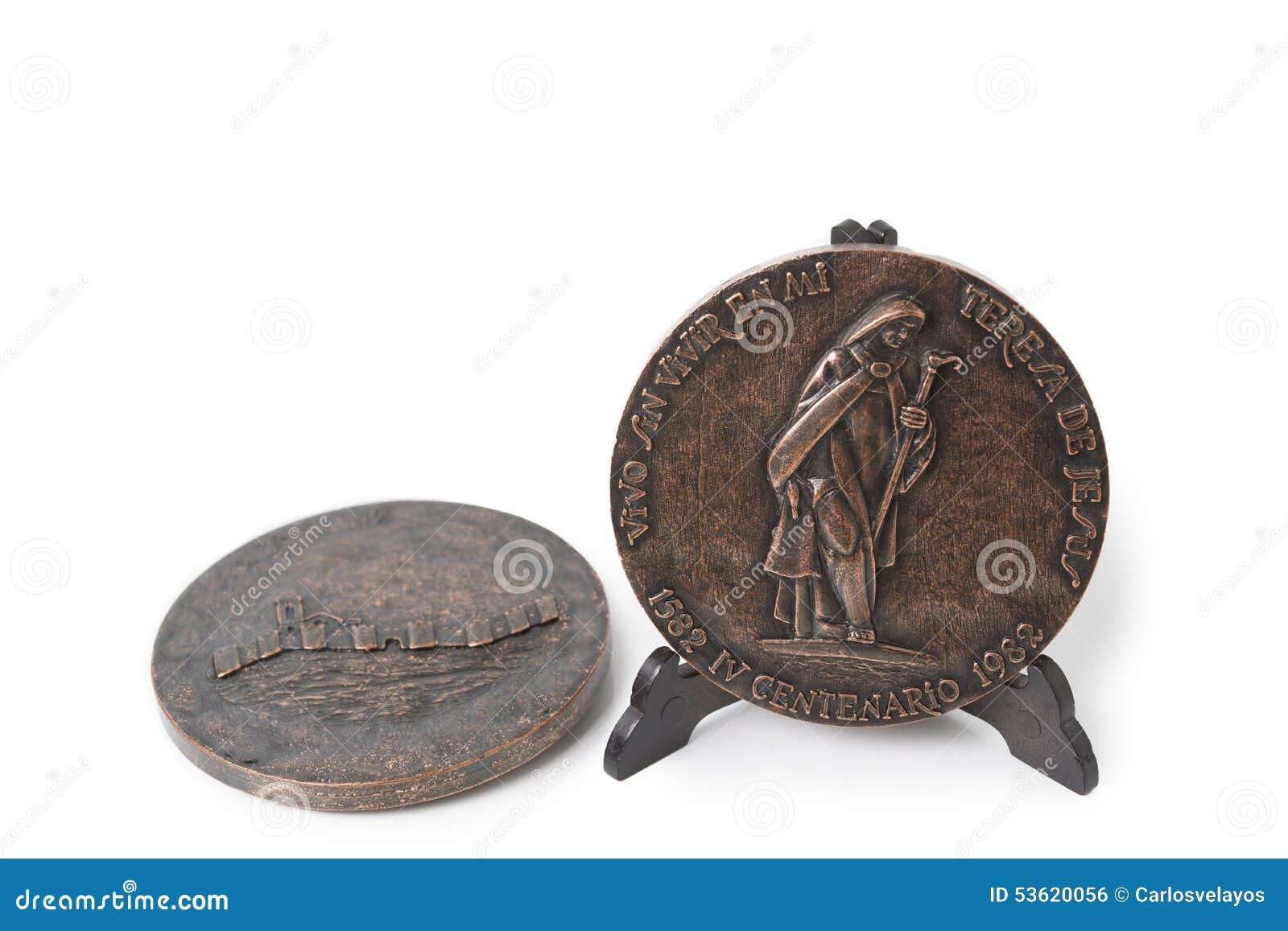 奖牌圣特里萨死亡的第四个百年  年1982年