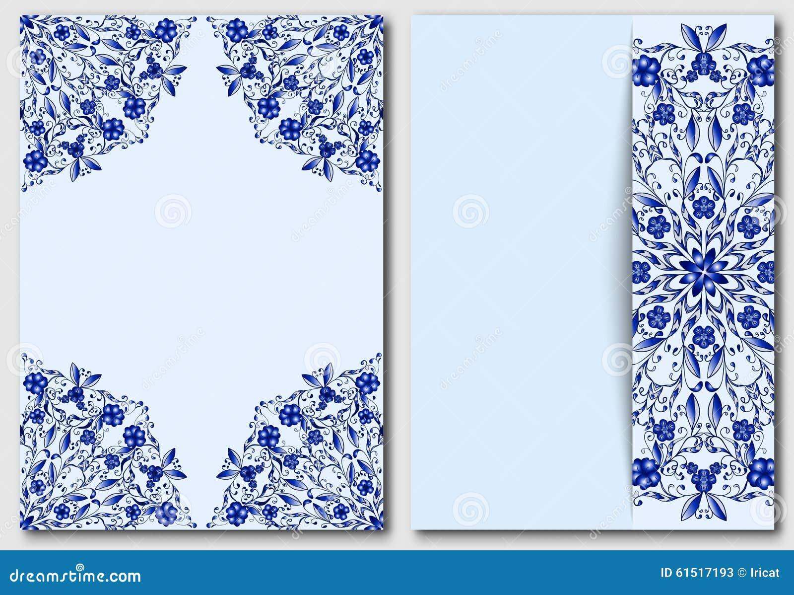套与中国或俄国主题绘画的模板在瓷