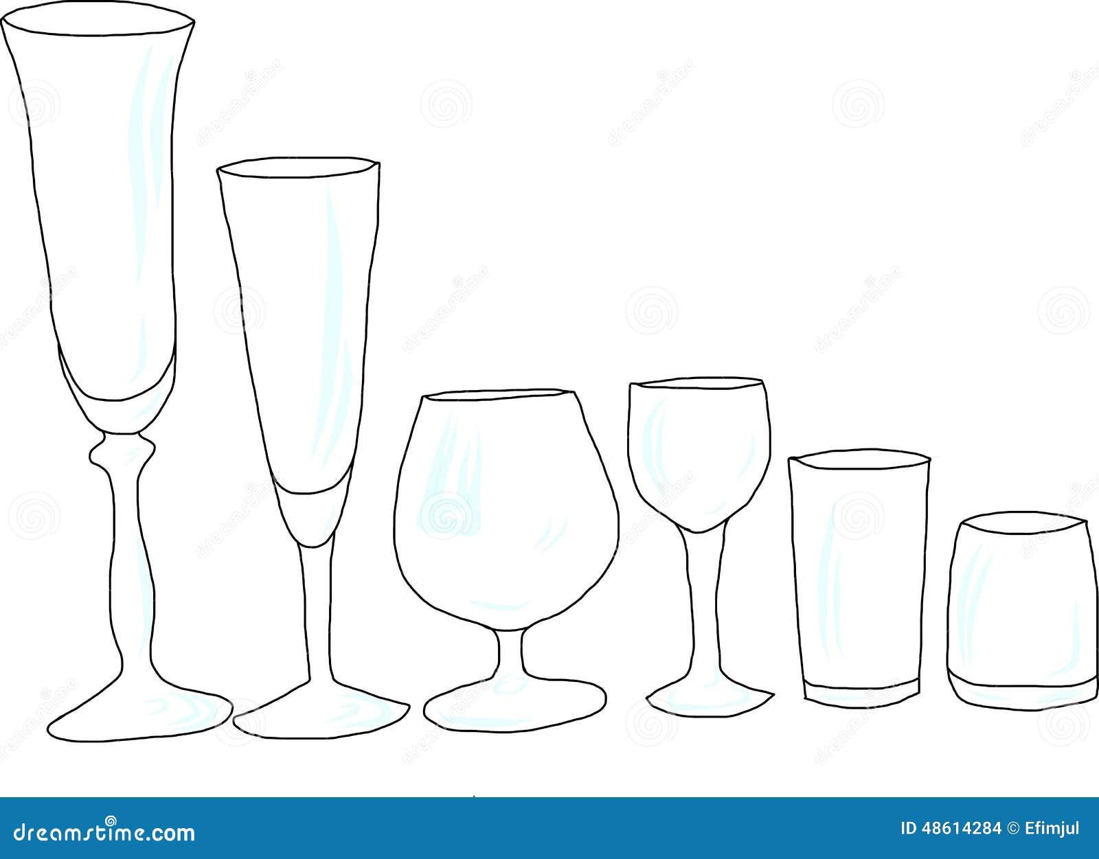 套与强光,剪影的酒杯.图片