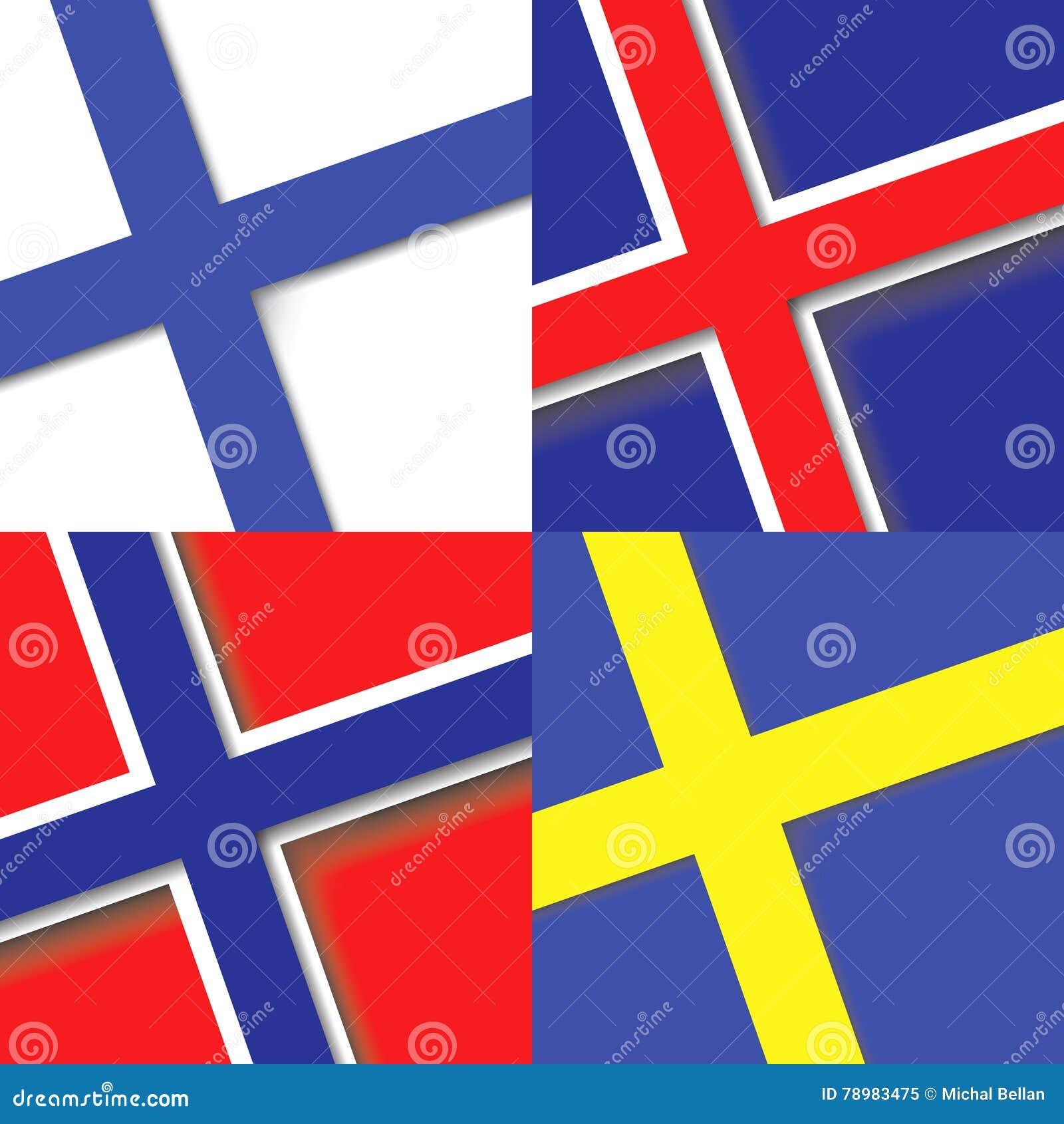 国旗 正方形