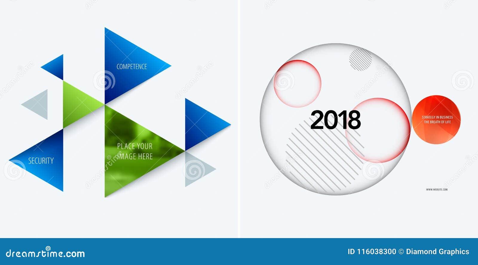 套图表模板的抽象传染媒介设计 创造性的现代企业背景