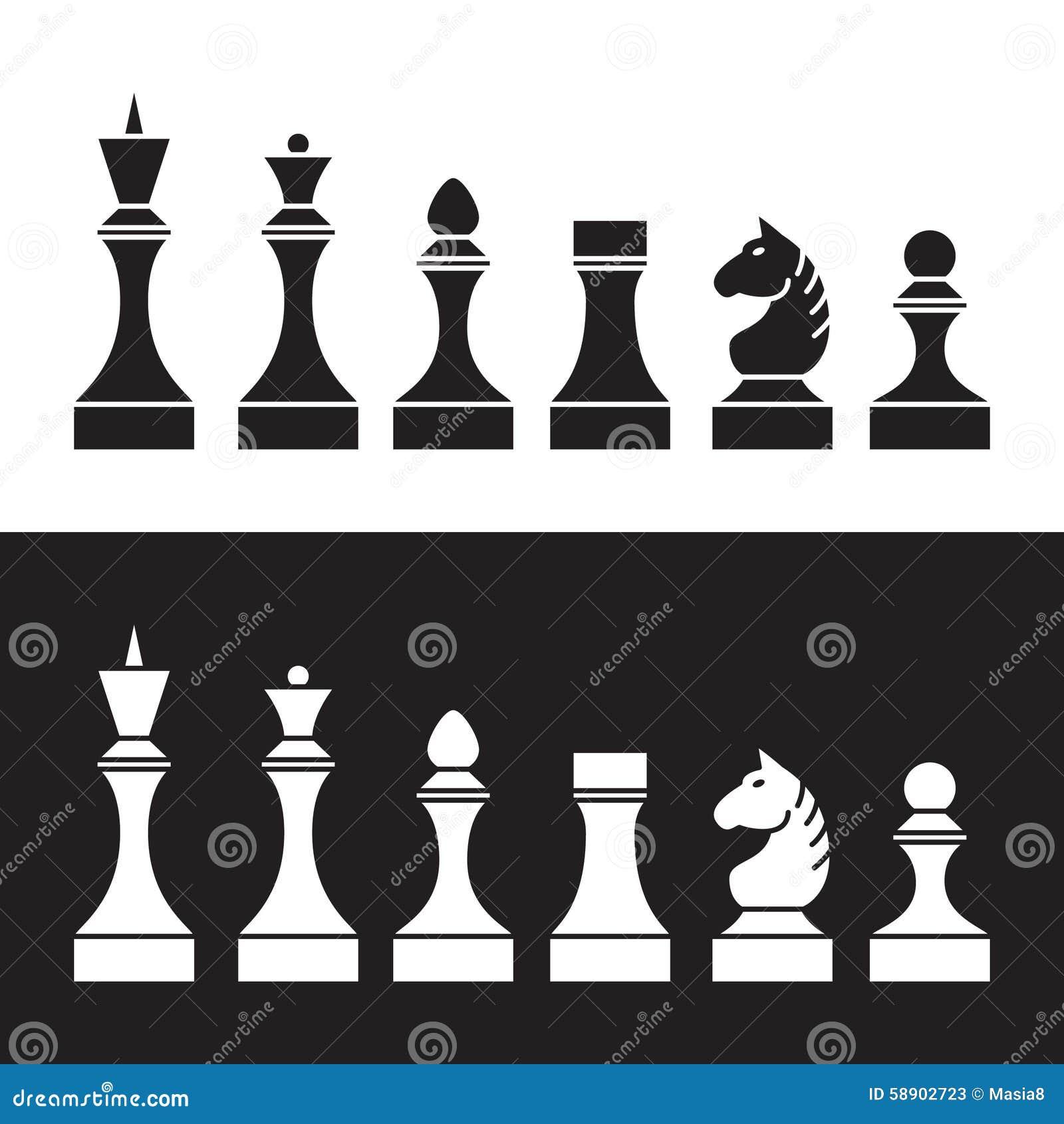 套棋子(西洋棋棋子)图片