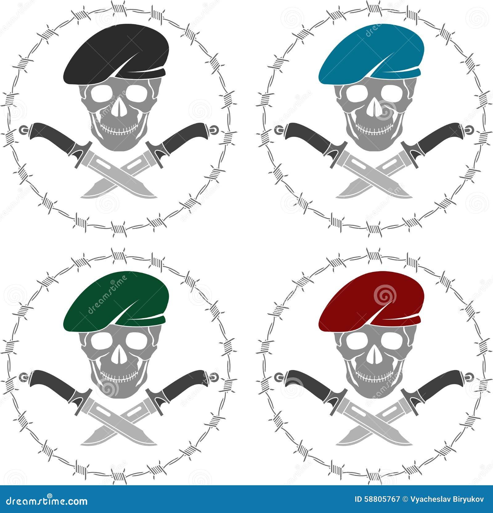 套特种部队的标志