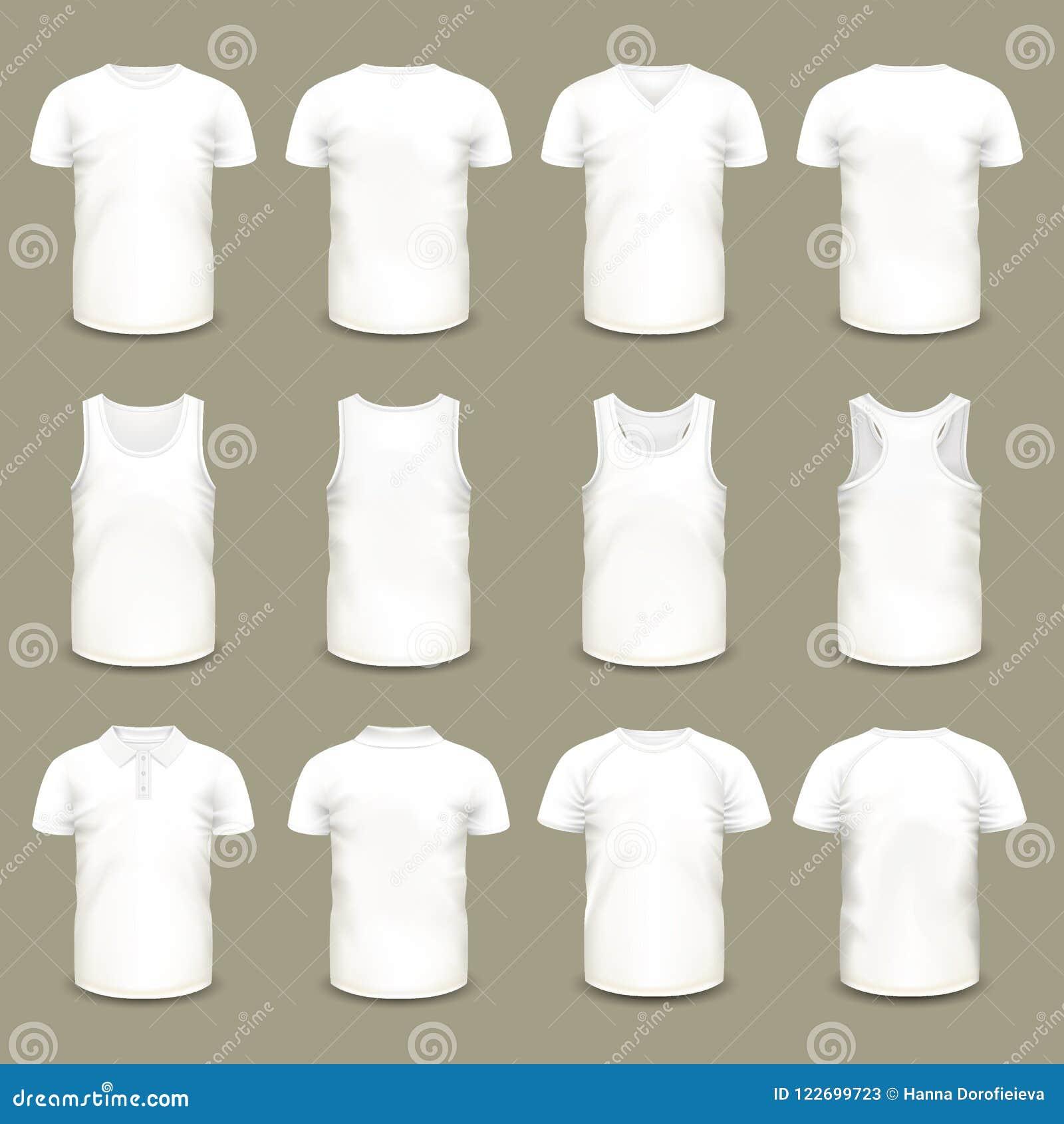 套男人和妇女的被隔绝的体育T恤杉