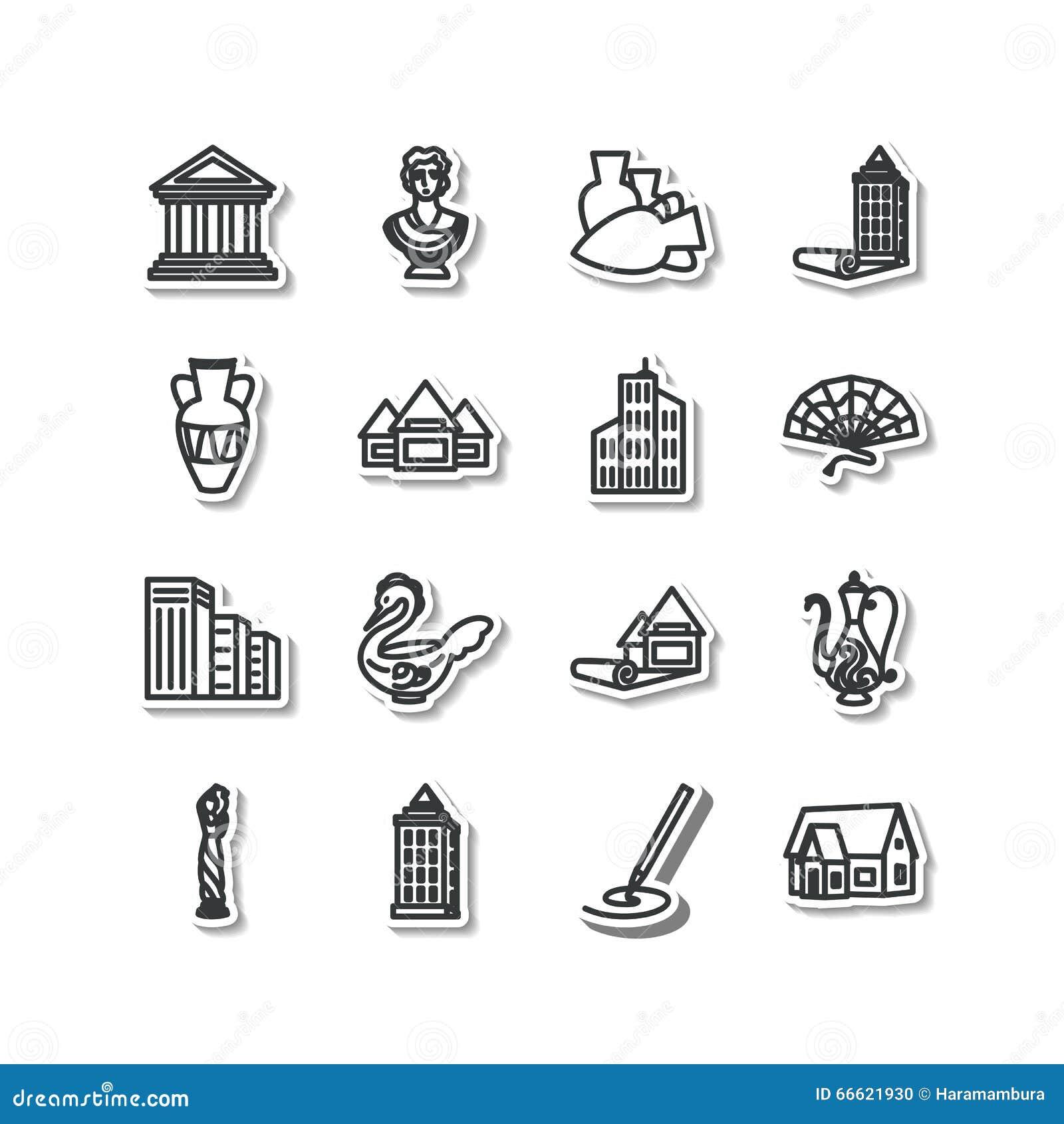 套象-建筑学,雕塑,装饰艺术