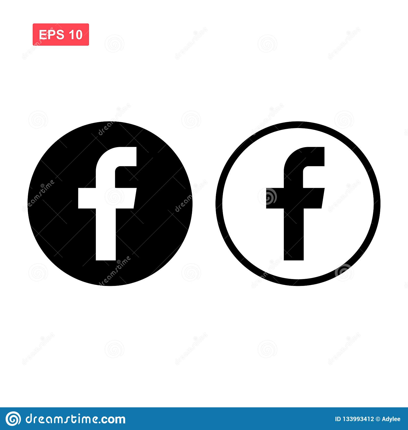 套黑传染媒介facebook象