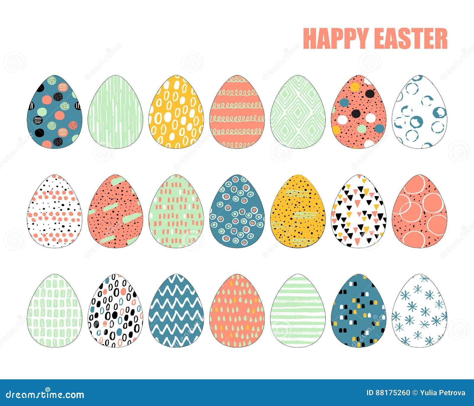 套21个复活节彩蛋