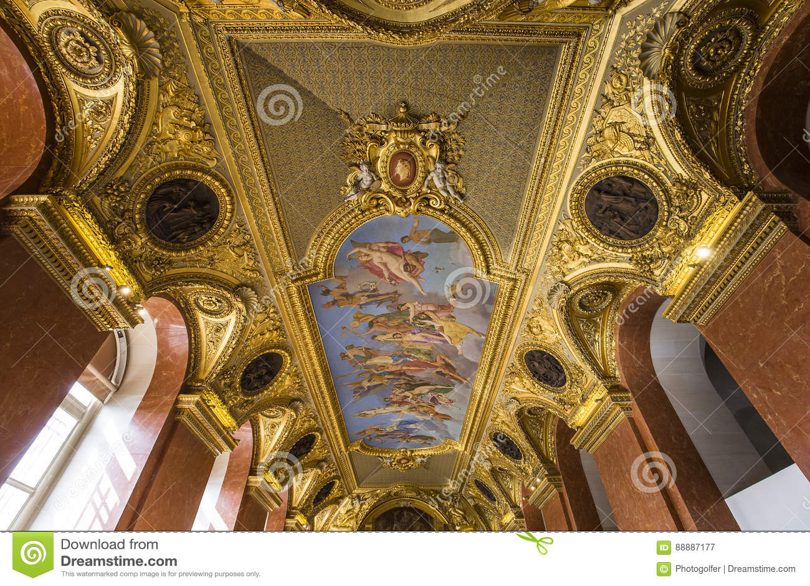奥地利公寓的安妮,天窗,巴黎,法国