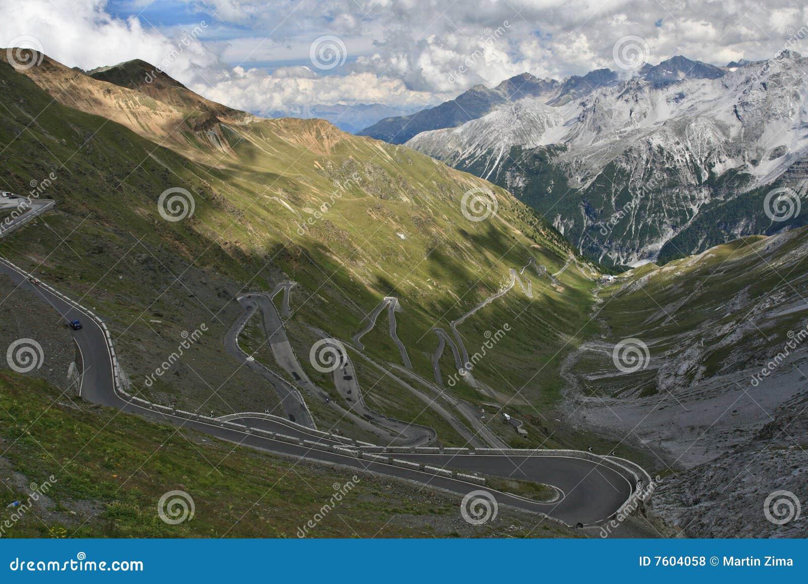 奥地利passo路stelvio