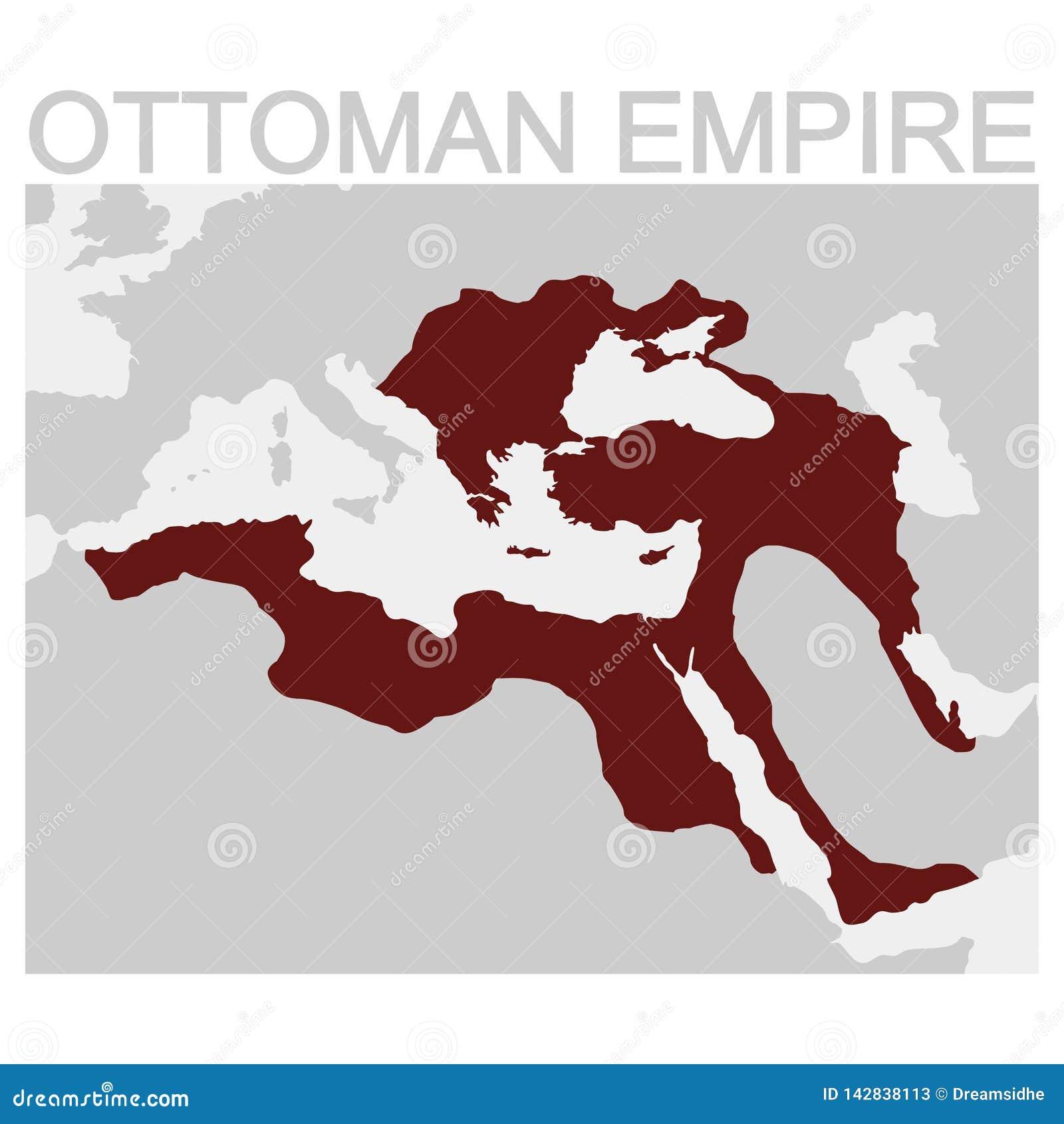 奥斯曼帝国的地图