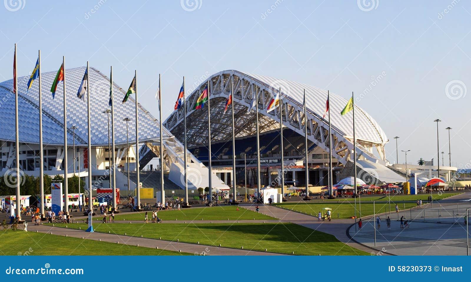 奥林匹克体育场Fisht在索契,俄罗斯