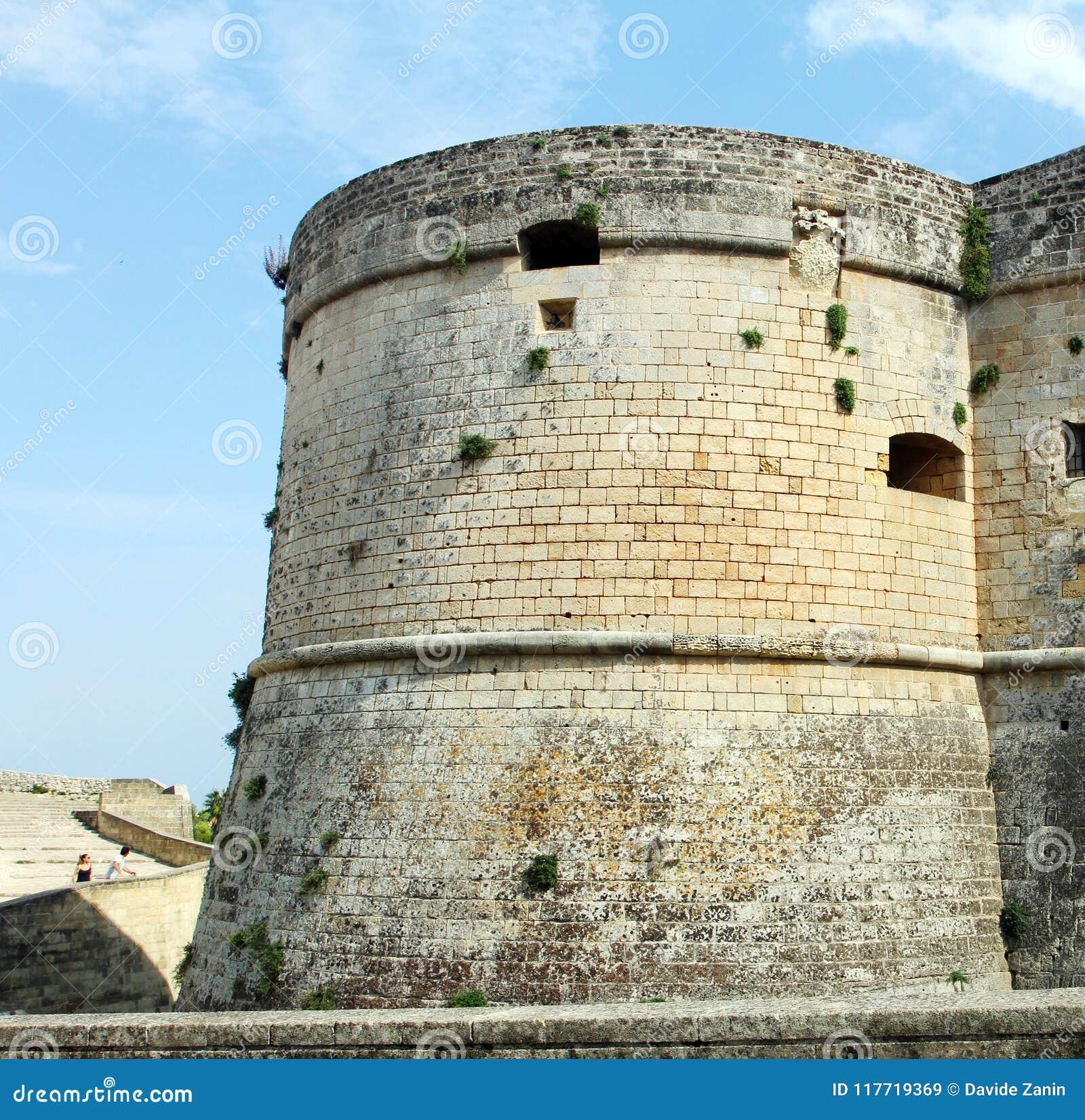 奥特朗托- Corigliano d `奥特朗托,普利亚,意大利城堡