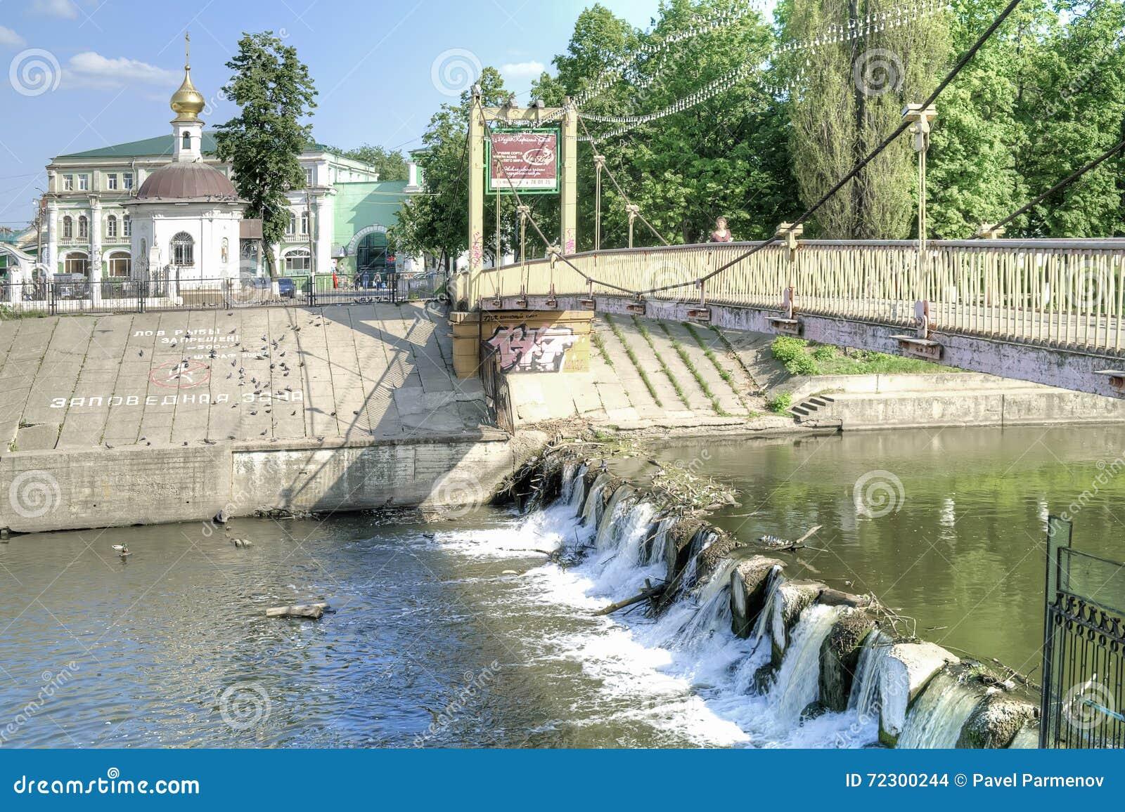 奥廖尔州 河Orlik和突然显现大教堂