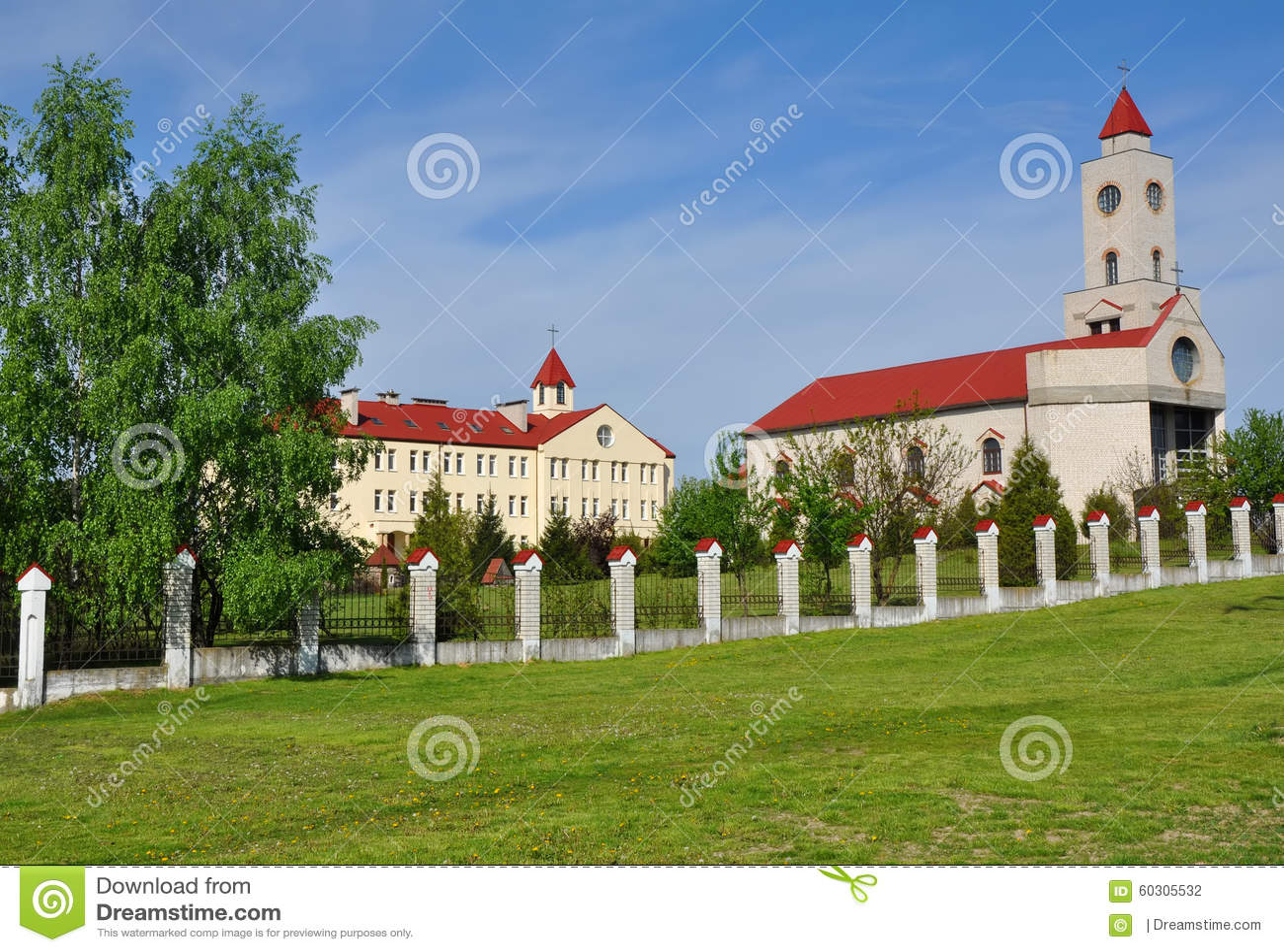 女修道院的疆土在巴拉诺维奇