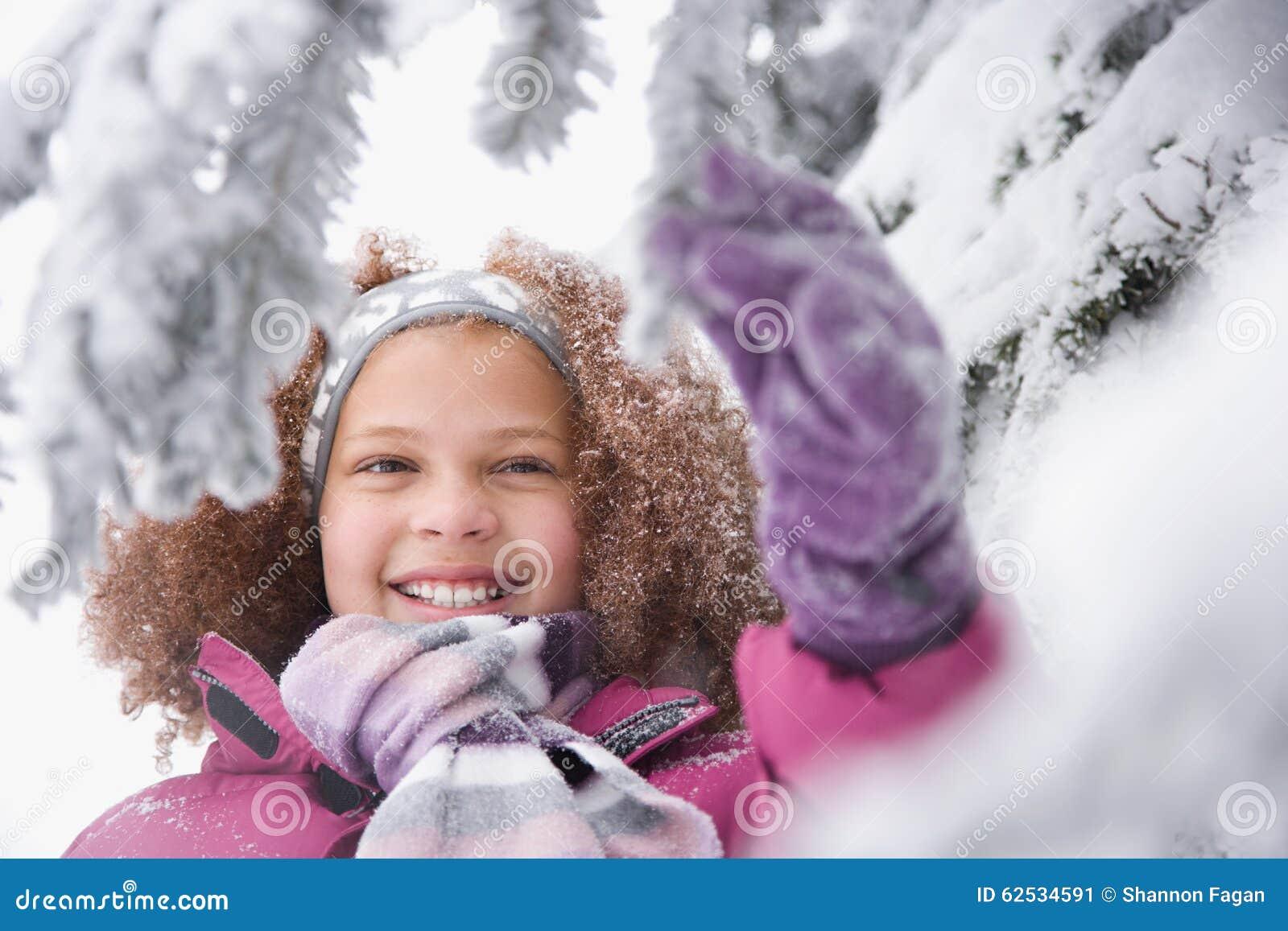 女孩和多雪的分支