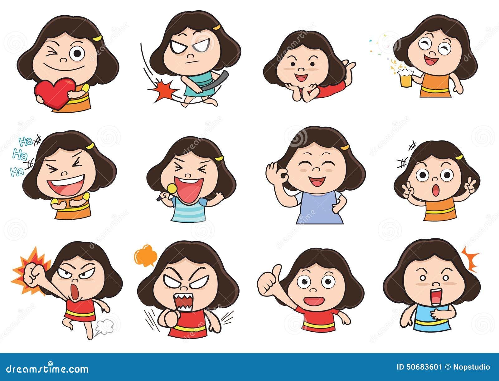 Download 女孩代理动画片 向量例证. 插画 包括有 字符, 孩子, 夫人, 例证, 子项, 系列, 动画片, 分集 - 50683601