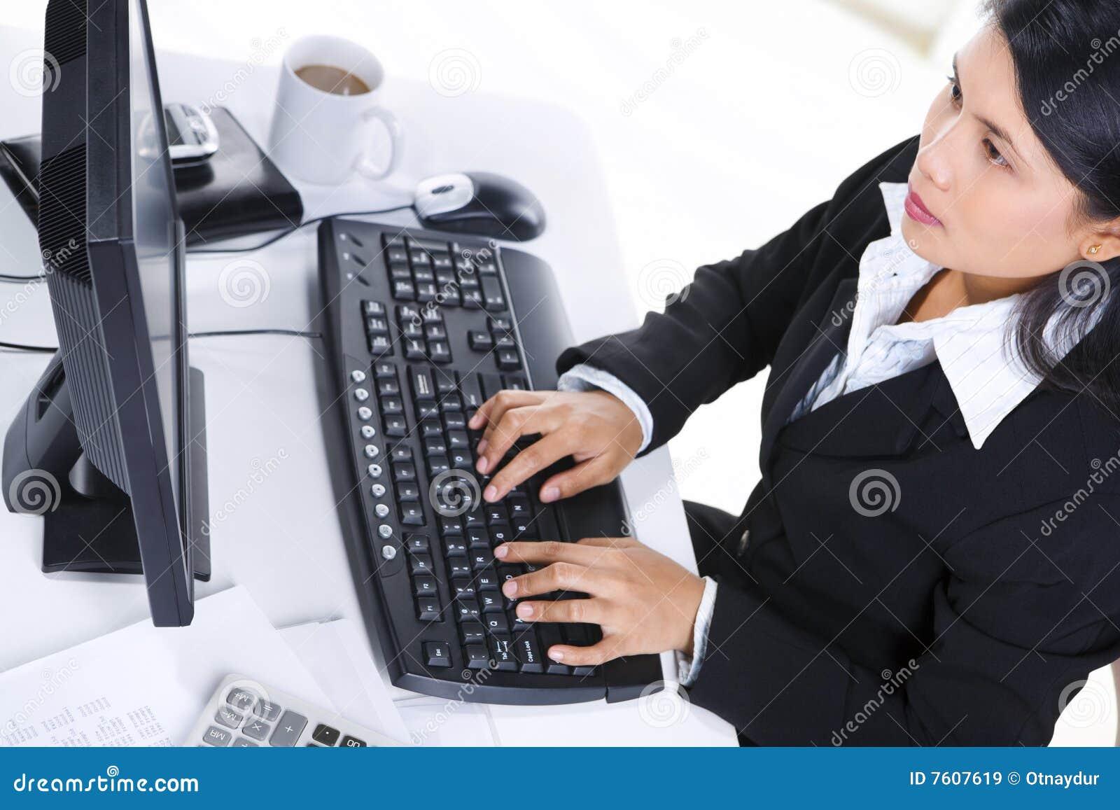 女实业家办公室工作