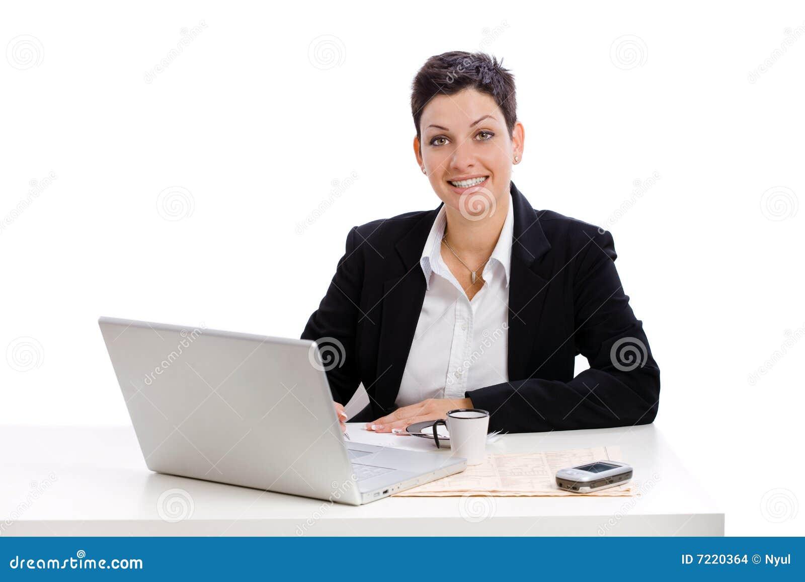 女实业家工作