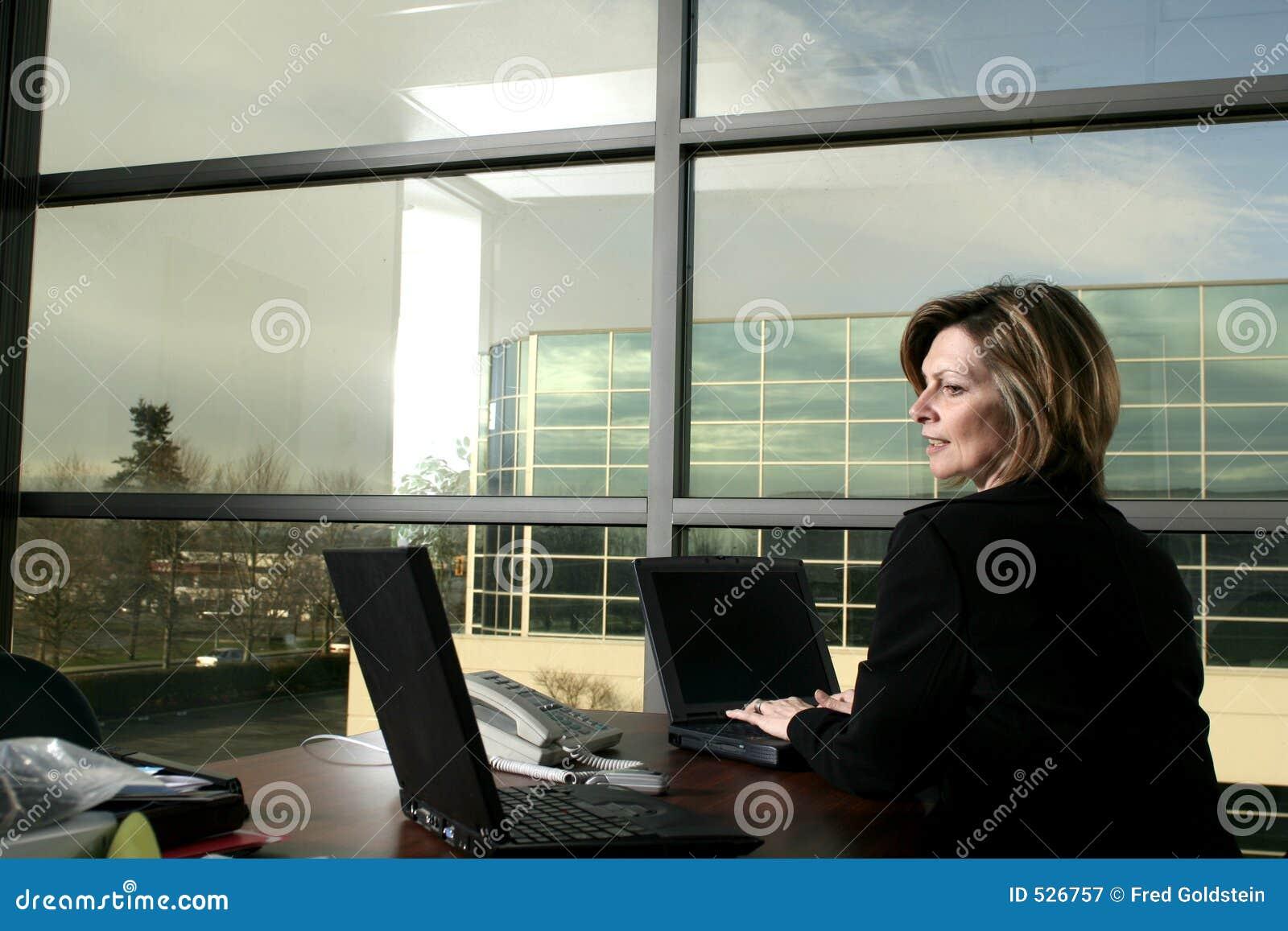 Download 女实业家 库存图片. 图片 包括有 人们, 办公室, 购买权, 招待员, 键入, 电话, 商业, 工作, 女性 - 526757