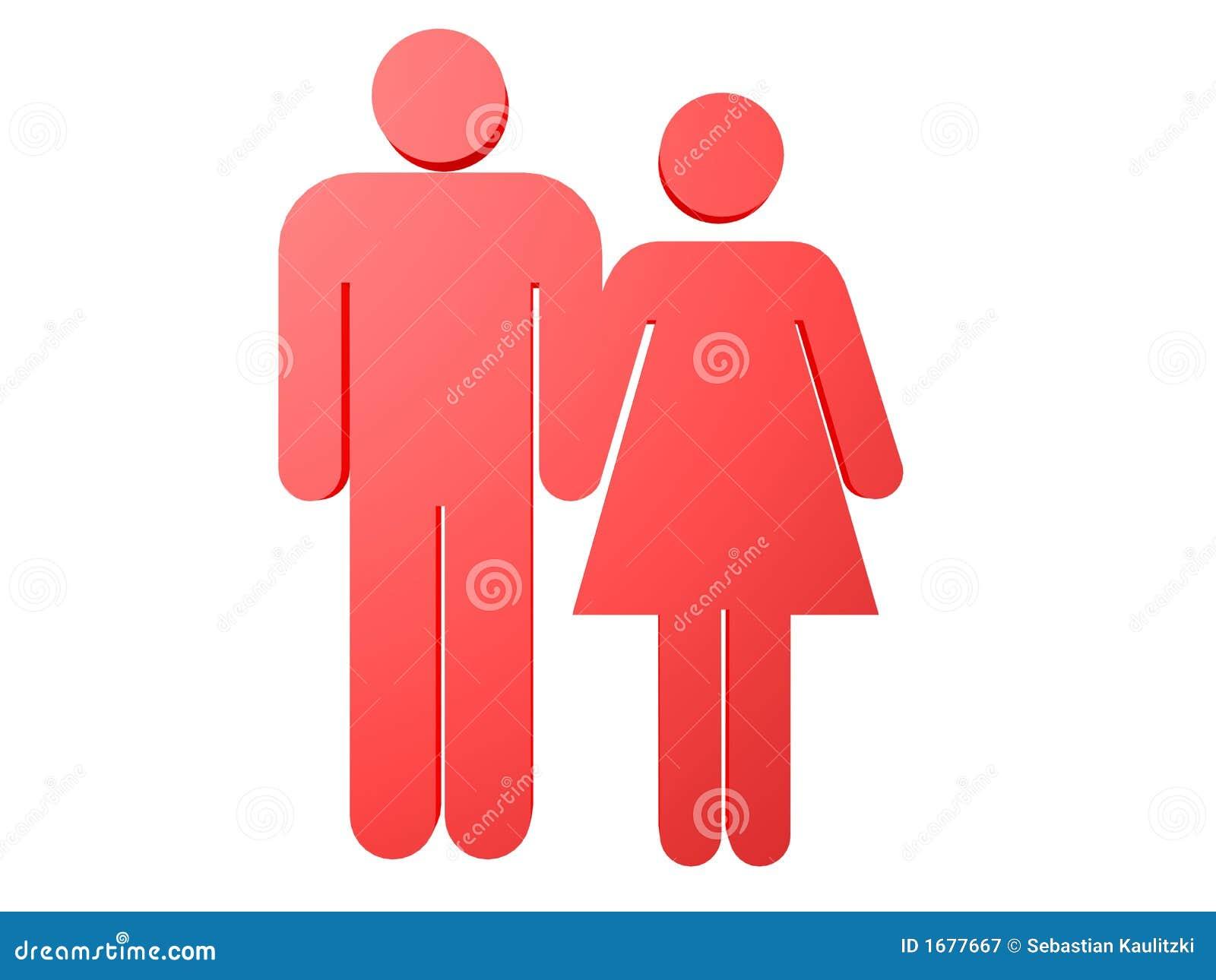 男性女性做爱片_女性男性符号 免版税图库摄影 - 图片: 1677667