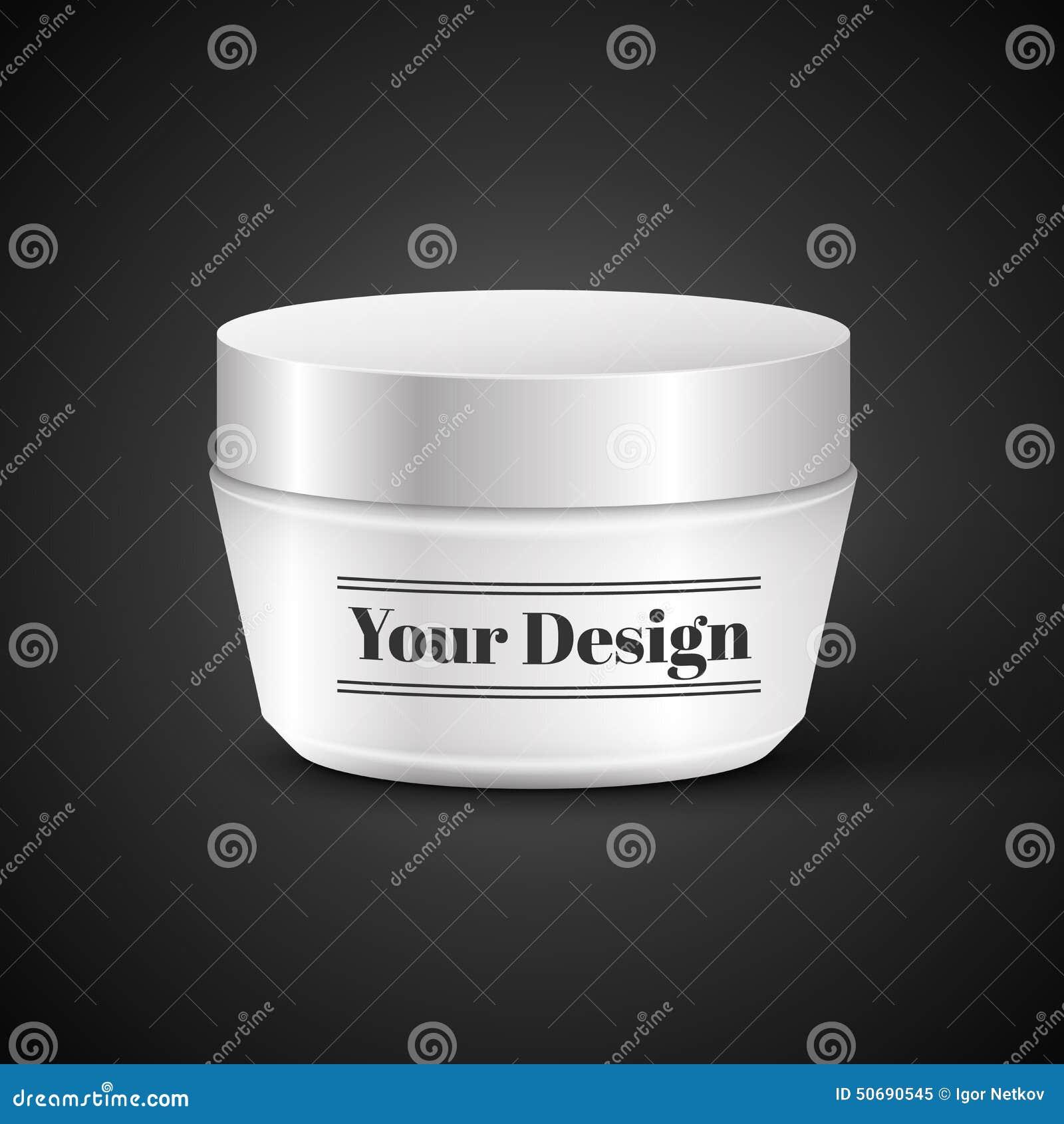 Download 奶油、粉末或者胶凝体的空白的化妆容器 向量例证. 插画 包括有 奶油, 容器, 卫生学, 干净, 化妆用品 - 50690545