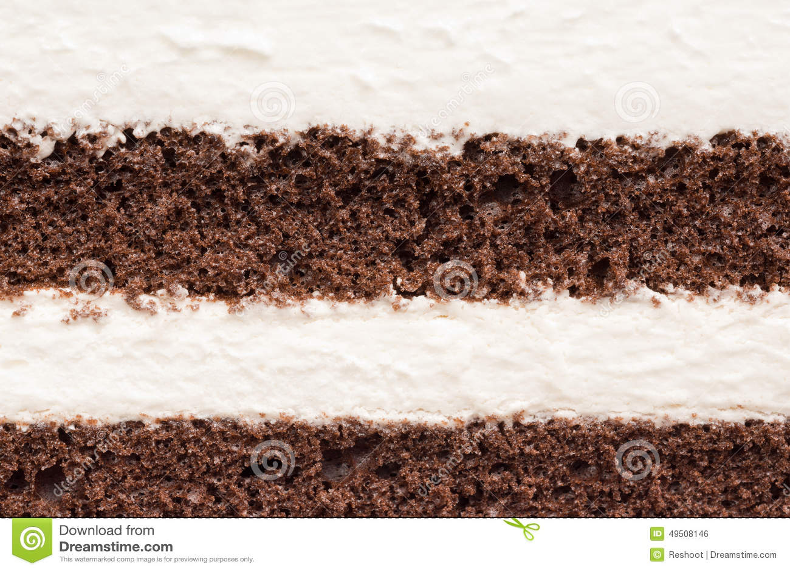 奶油甜点和巧克力蛋糕纹理