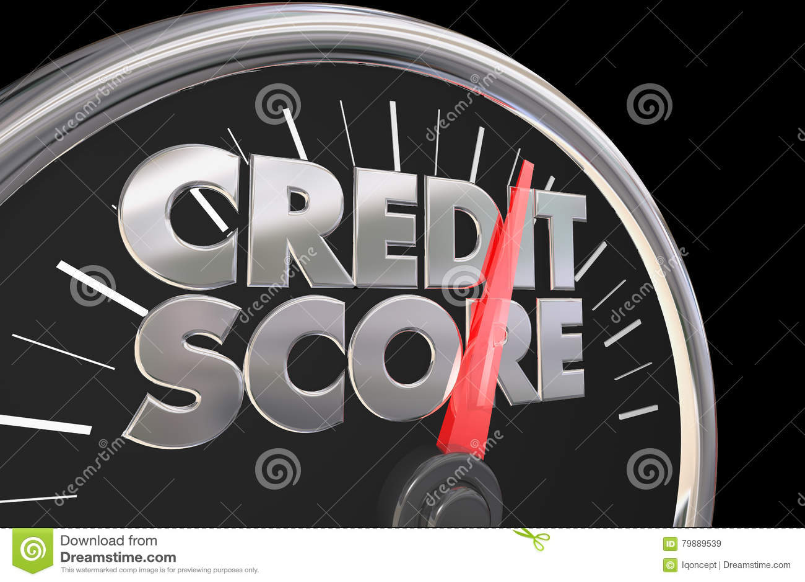 更好信用评分的车速表改进规定值数字