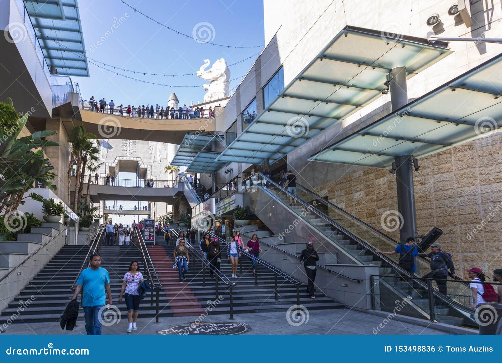 好莱坞&高地购物中心,好莱坞大道,好莱坞,洛杉矶,加利福尼亚,美国