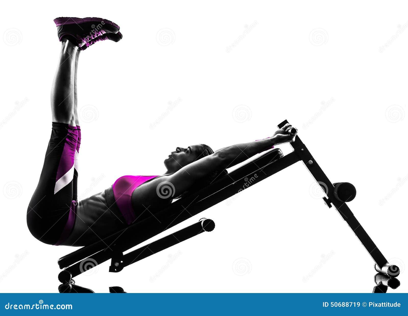 Download 妇女健身卧推咬嚼锻炼剪影 库存图片. 图片 包括有 背包, 剪影, 体育运动, 咬嚼, 影子, 长度, 体操 - 50688719