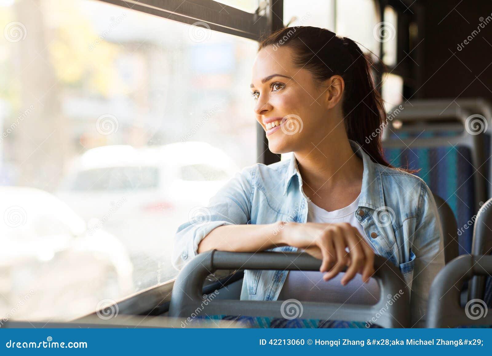 妇女公共汽车工作