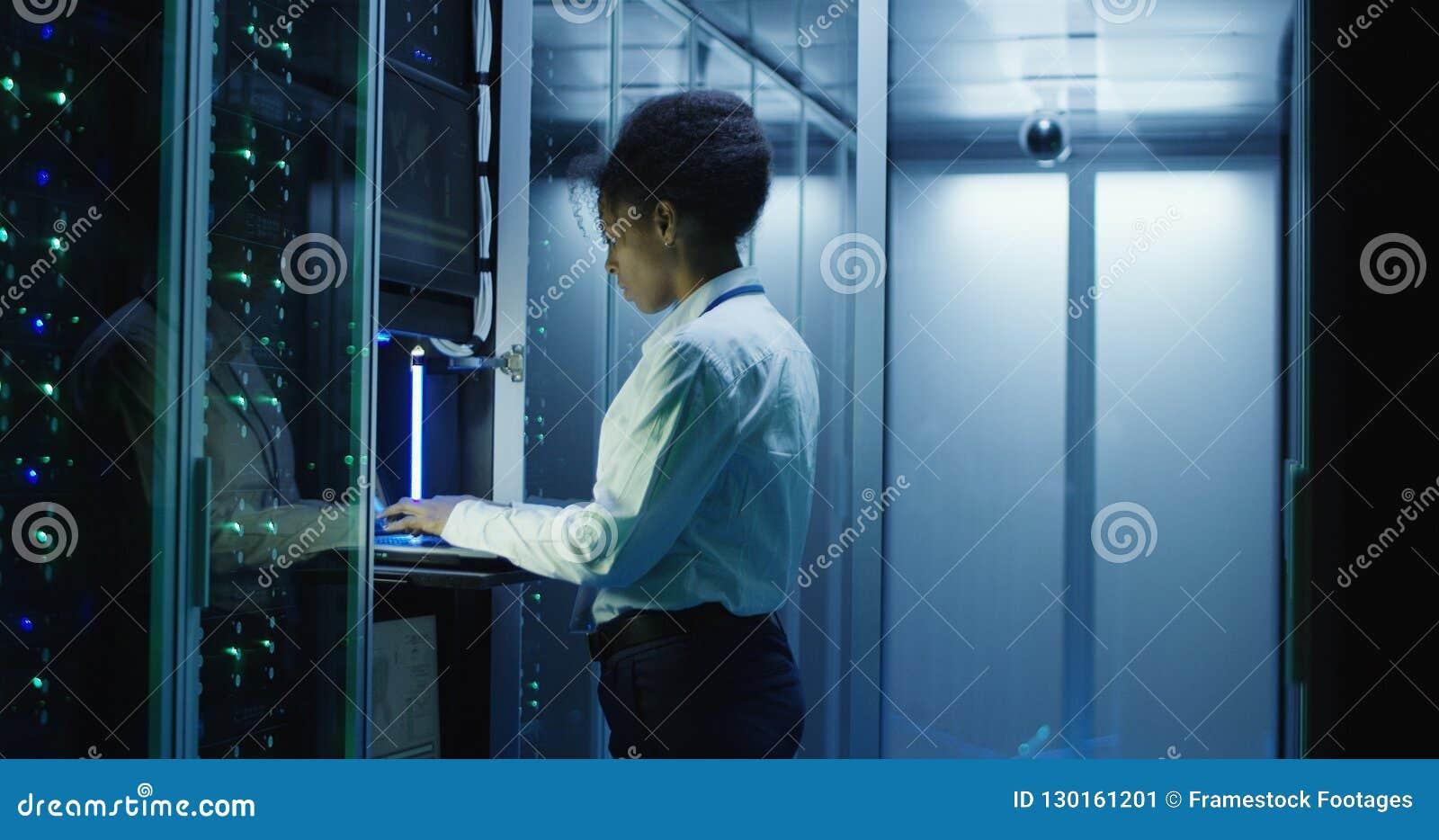 妇女在中心的诊断服务器硬件