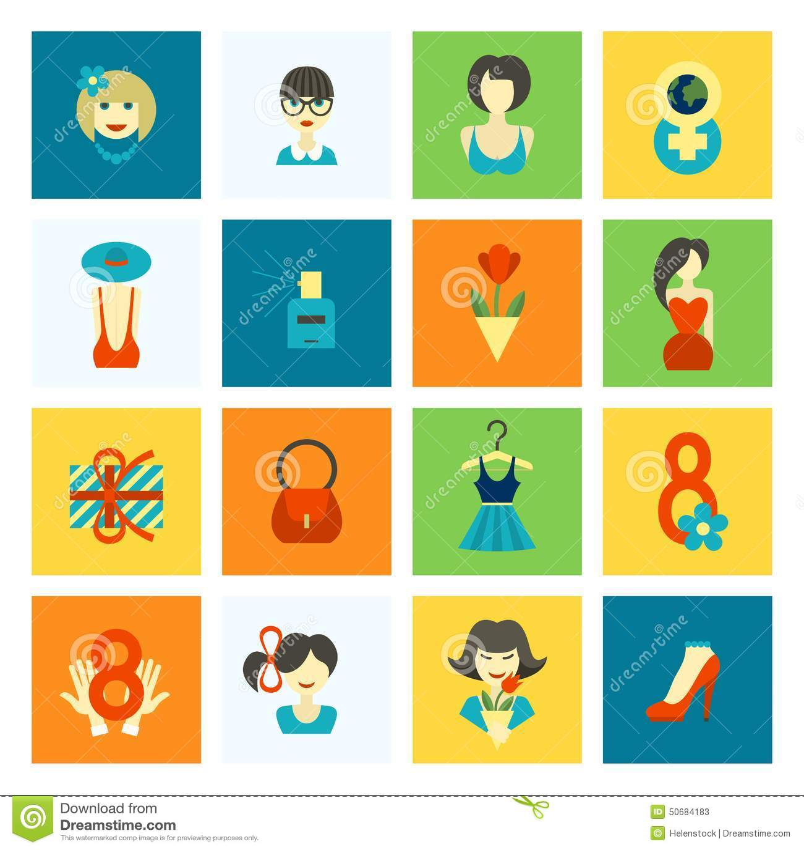 Download 妇女天象集合 向量例证. 插画 包括有 颜色, 愉快, 看板卡, 五颜六色, 女性, 女孩, 设计, 照亮 - 50684183