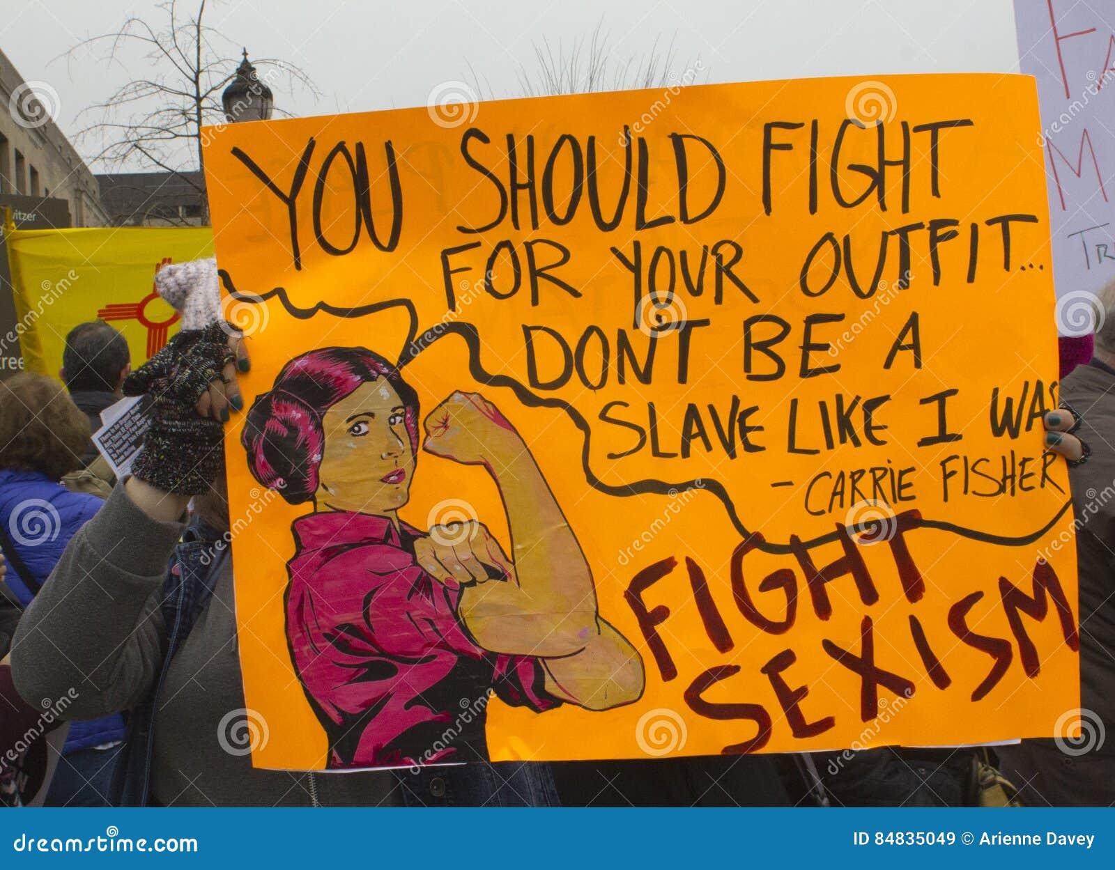 妇女`在华盛顿的s 3月