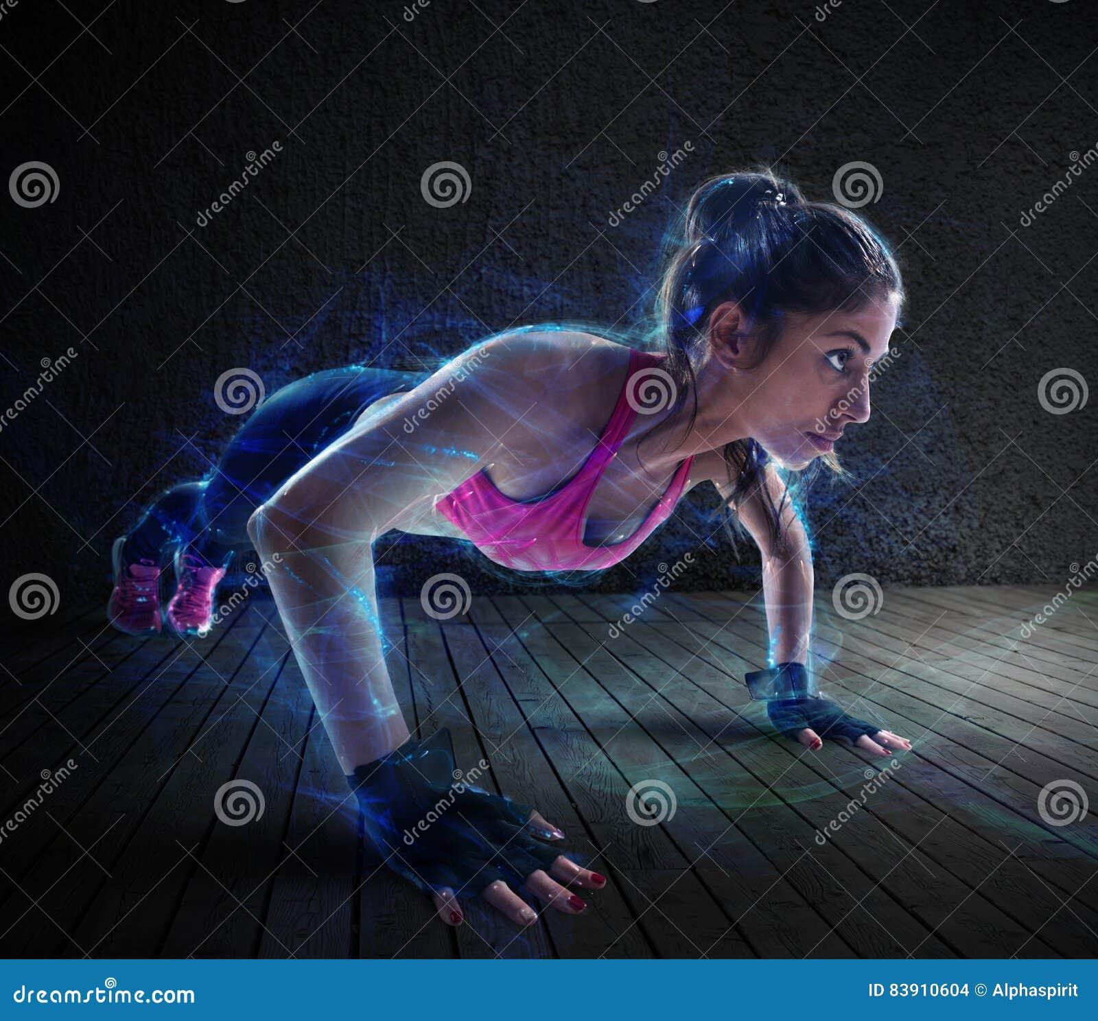 妇女锻炼与增加