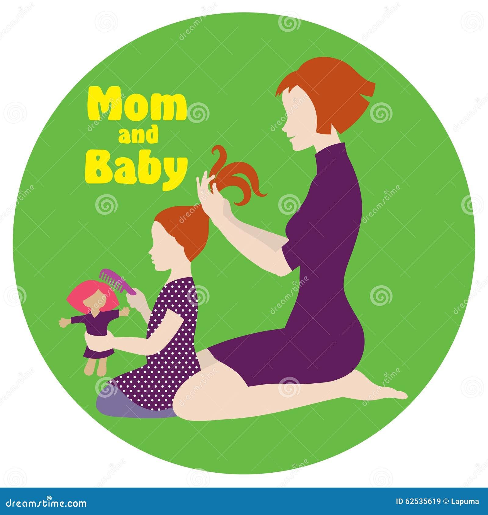 妈妈和女儿