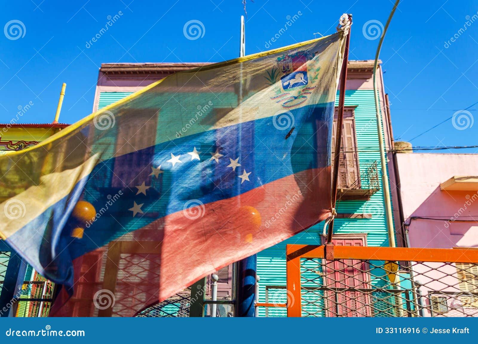 委内瑞拉旗子