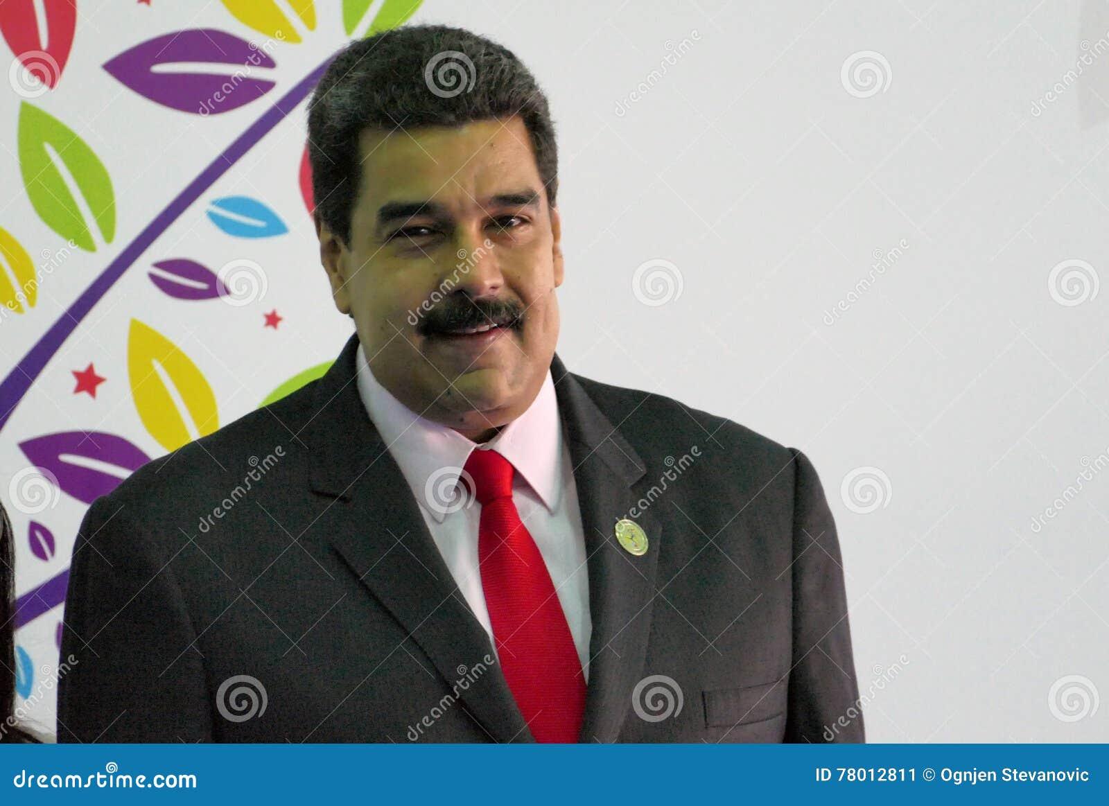 委内瑞拉总统尼古拉斯・马杜罗