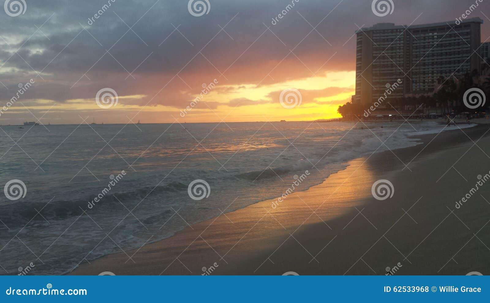 威基基海滩男孩岸