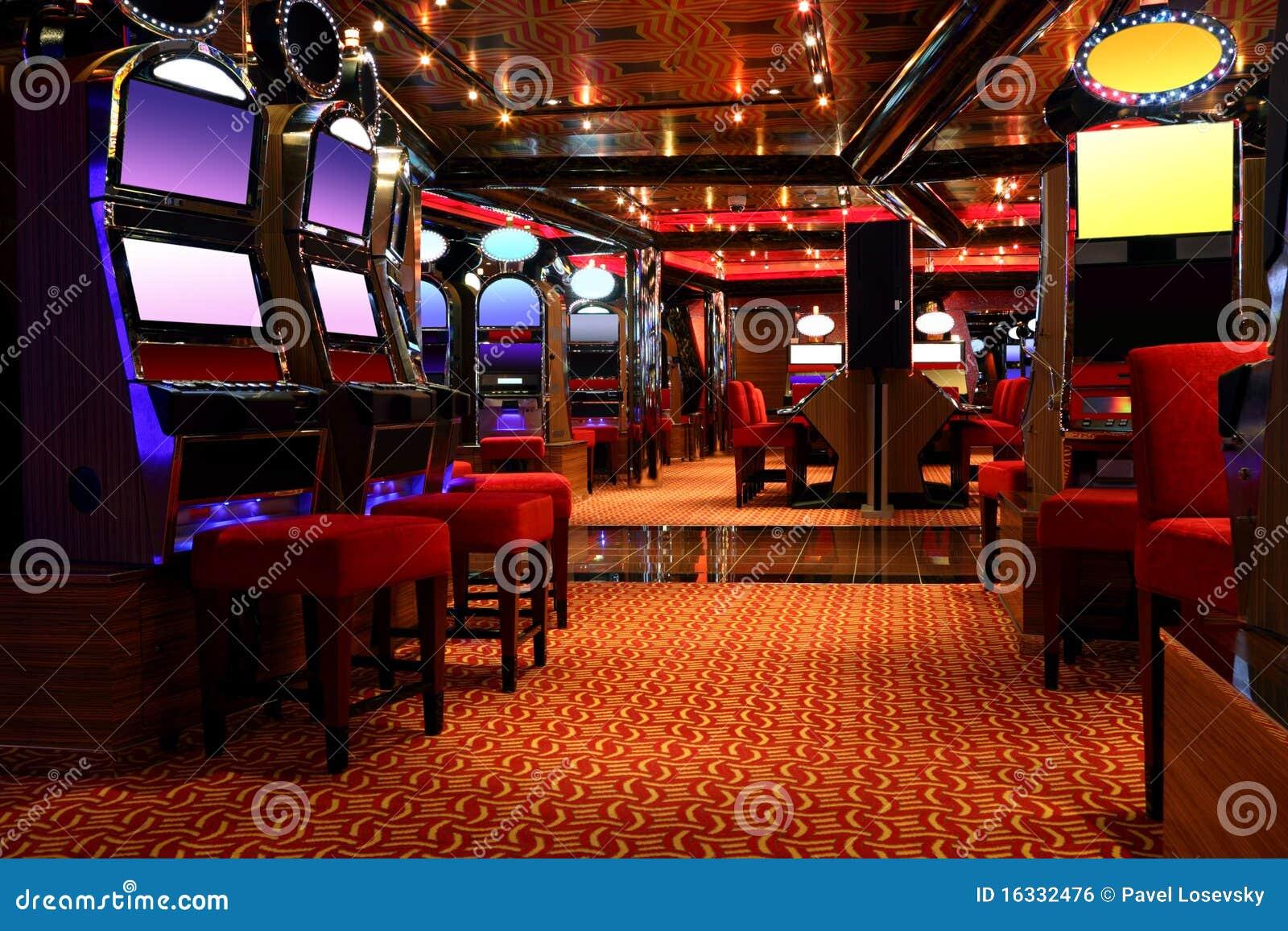 娱乐场游艺厅用机器制造现代