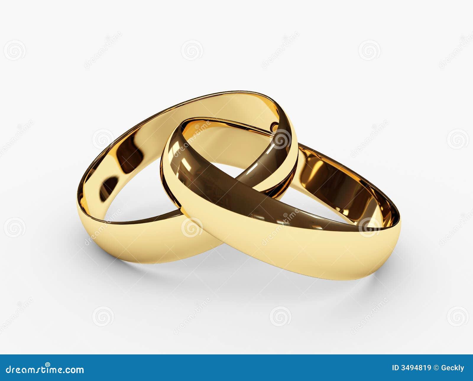 婚姻被连接的环形