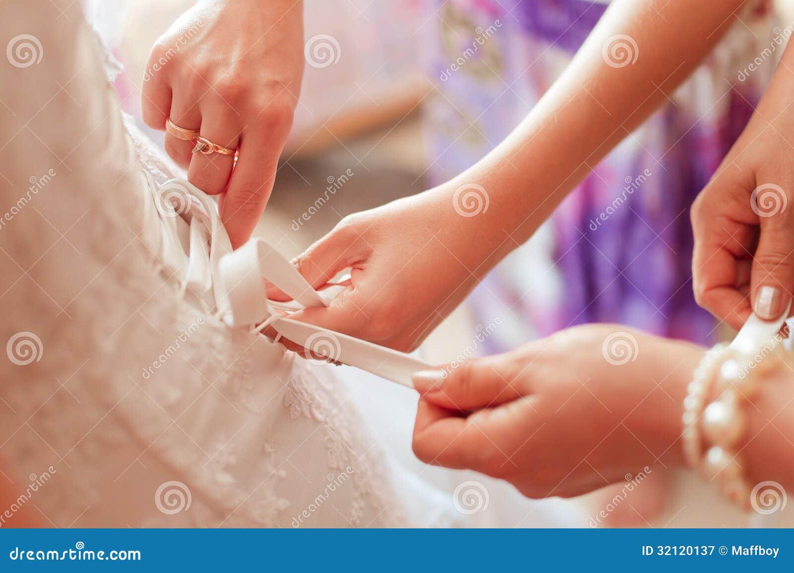 婚礼礼服束腰