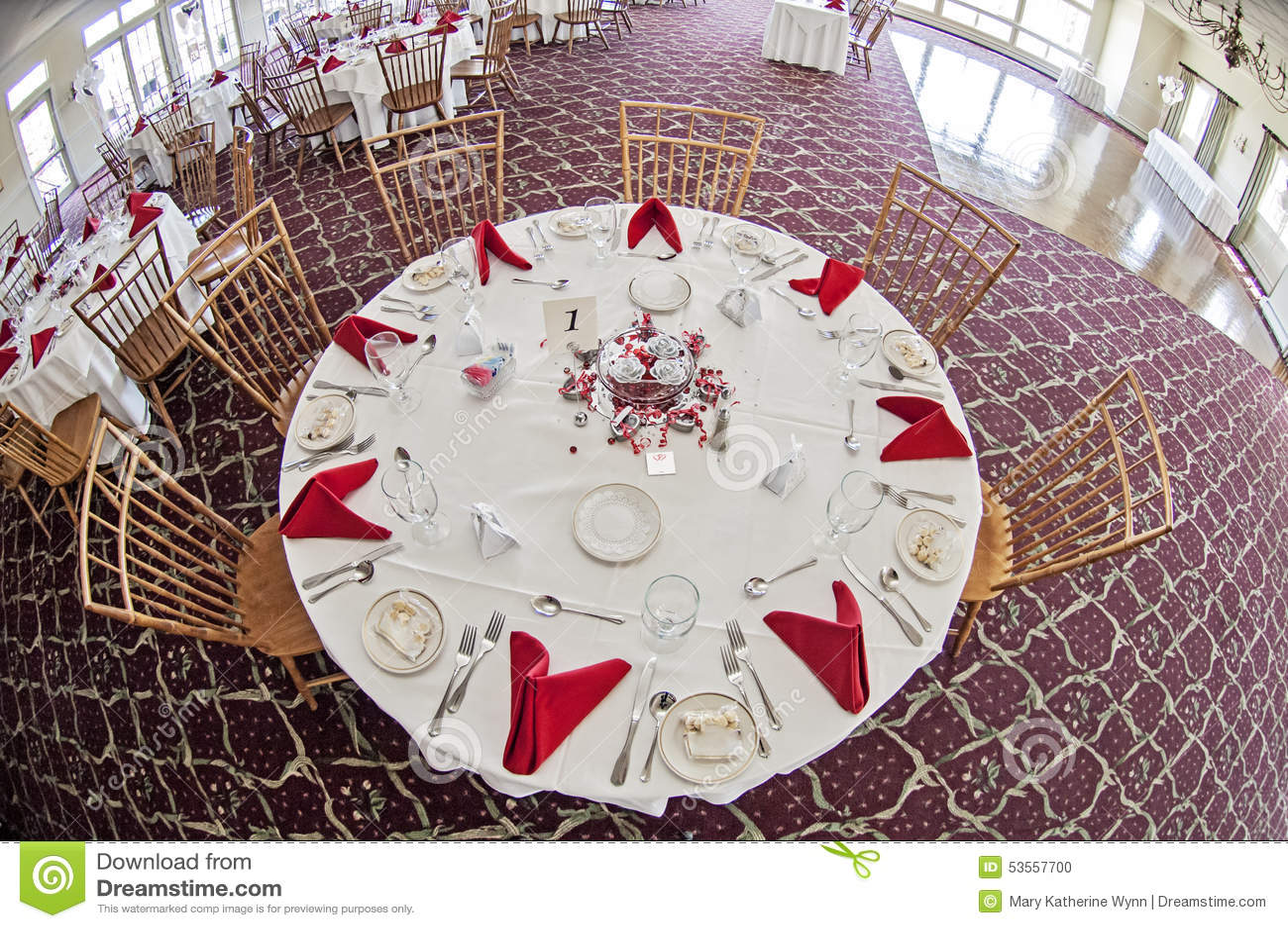 婚礼聚会桌